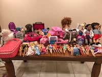 Large Lot of girls toys (Barbies, Bratz, other assorted items) - open to offers