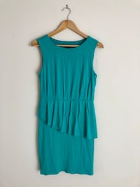 Teal sleeveless dress (brand new!) Toronto, M9W 7J9