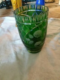 green glass cup 939 mi