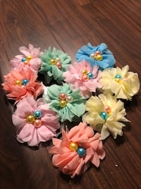 Assorted children / baby hair ties head bands hair accessories