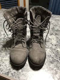 Lady's grey boots Sherwood Park, T8H
