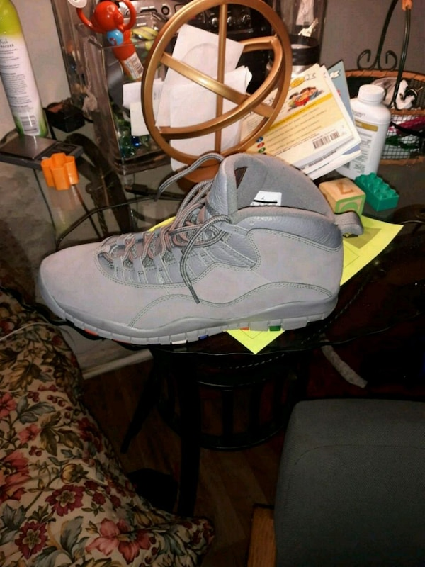 33c3262cccc03a Used All grey Jordan 10s size 13 for sale in Decatur - letgo