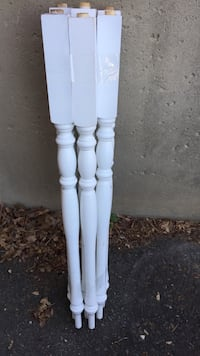White stair or deck post balusters - (8 unused NEW) Alexandria, 22312