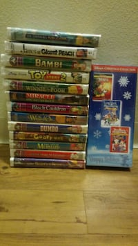 Sealed disney vhs Collection Reno, 89502