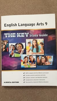 English Language Arts 9 the key study guide Calgary, T3K 0G4