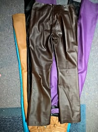 Genuine Leather Misses Pants LIKE NEW