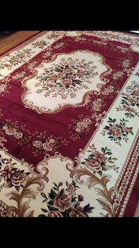 Brand new area rug size 8x11 nice red carpet Persian design rugs Burke, 22015