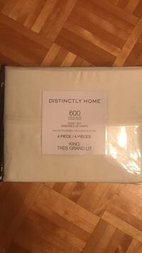 Off white/Cream bed sheet set Laval, H7C