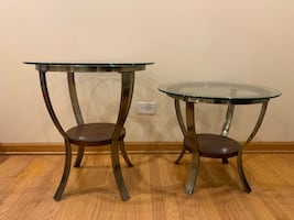 Glass Tables - Both