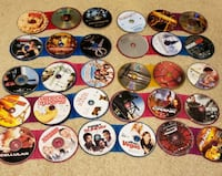 assorted color game disc lot Houston, 77068