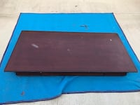 black and blue wooden bed frame Bakersfield, 93313
