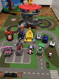 Paw Patrol Lookout Tower and Rescue Vehicles