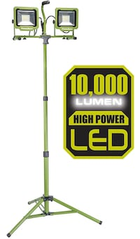 PowerSmith PWL [TL_HIDDEN]  Lumen LED Dual Head Work Light