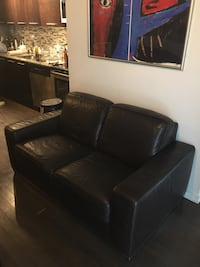 Natuzzi Limited Edition Leather Sofa and Two Seater! Toronto, M6J 0A9