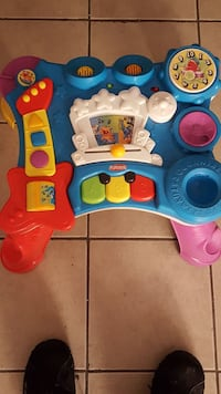 toddler's multicolored activity table Schaumburg, 60173