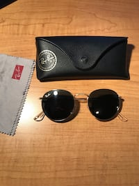Ray-Ban Round Metal Gold Sunglasses Bakersfield, 93313