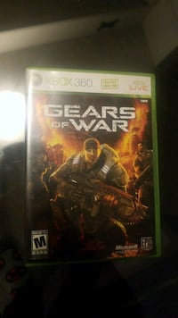 Xbox 360 Gears of War 4 game case Mississauga, L5N 3A8