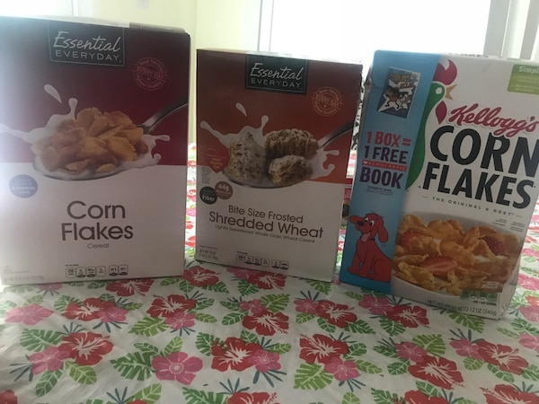 Cornflakes sealed not expired brought from giant 1$ each