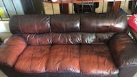 Real Leather Couch San Diego, 92129