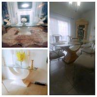 7pc dinning,coffe table,side tables,and high table Richmond Hill, L4E 0R3