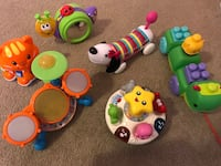 children's assorted toy collection
