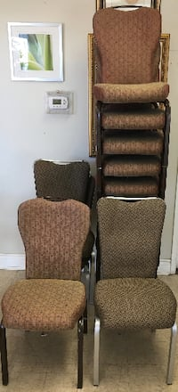 Stackable Banquet Chairs $10 each (many available)