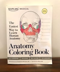 Massage Therapy- Anatomy Colouring  Book Toronto, M6C 1M6