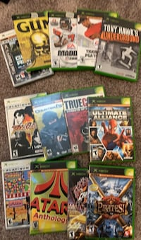 Various X-Box games