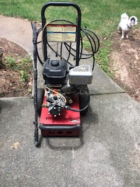 red and black pressure washer Atlanta