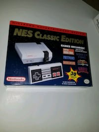 Nes classic edition with 30 games  Toronto, M1W 2K7