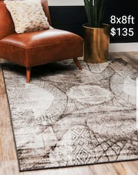 Brand new square area rugs sizes  Mississauga, L5J 4E6
