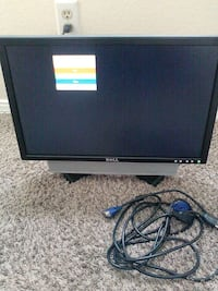 black Dell flat screen monitor Albuquerque, 87104