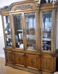 Wooden hutch and buffet Toronto
