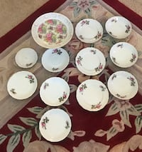 HandPainted Betson China 12pcs Hedgesville, 25427