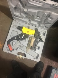 2 in 1 combo staple and nail flooring gun 230 mi