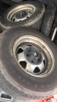 2 Jeep wheels and tires 215/75/15 Groveport, 43125