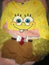 Adult Small Spongebob Costume Pharr, 78577