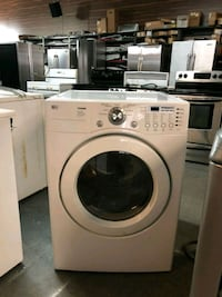 white front-load clothes washer New York, 10038