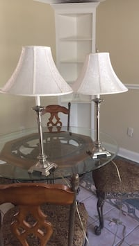 two white and gray table lamps Toms River
