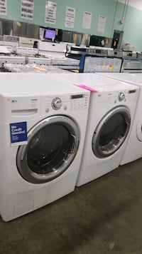 Lg natural gas set dryer/washer 27inches!  Manorville, 11949