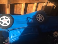 blue and black car bed frame South Bend, 46614