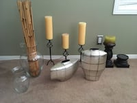 Vases and candle holders/ candles  Calgary, T2Y 4K9