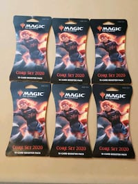 Magic gathering trading cards