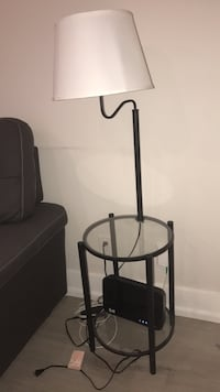 Glass lamp side table  Toronto, M6H 1W7