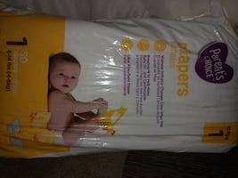 Parents choice diapers size one 50 count