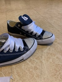 Navy Blue Wedding Converse Sneakers Hopedale, 01747