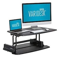 Varidesk Pro Standing Desk Solution WASHINGTON