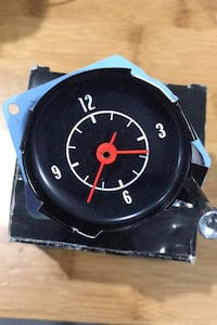 Corvette clock Shirley, 11967