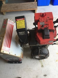 red and black power tool King, L0G 1T0