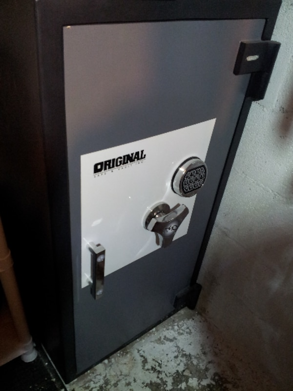 Original Safe Vault Electronic Lock Burglary Fire Floor Security Tall Gun  Safe
